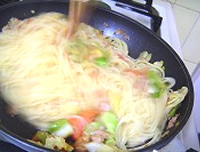 まろやか野菜のパスタ