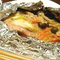 秋鮭のチャンチャンホイル焼き