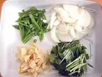 野菜のかきあげ丼