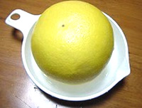 グレープフルーツゼリー