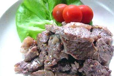 牛肉のハニーマスタード風味